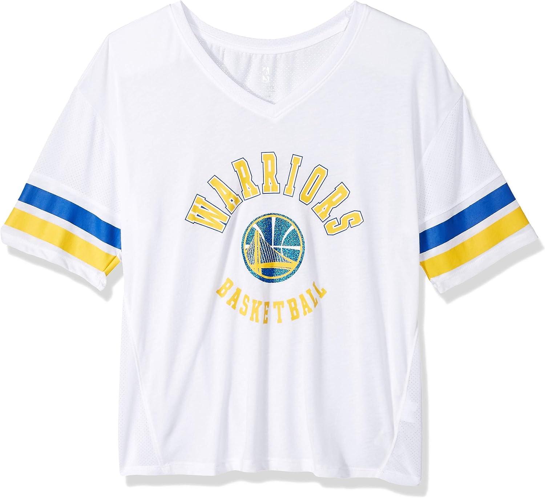 NBA by Outerstuff NBA Juniors Mesh Blocker Short Sleeve Top