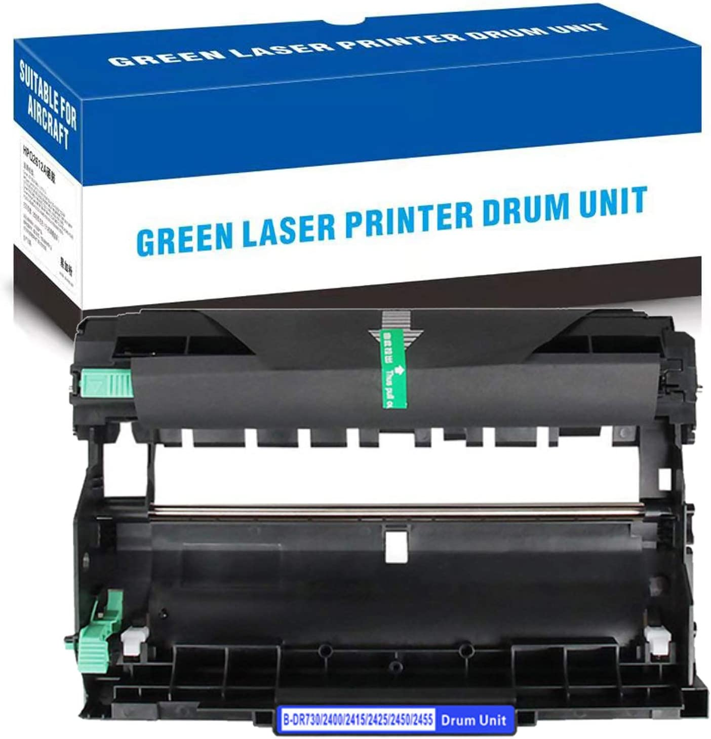 CUXU Compatible with Brother DR-730 Drum Unit Replacement, Suitable for DCP-L2550DW, HL-L2350DW/L2370DW/L2370DW XL/L2390DW/L2395DW, MFC-L2710DW/L2750DW/L2750DW