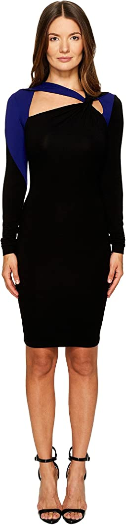 Versace Jeans - Long Sleeve Cut Out Dress
