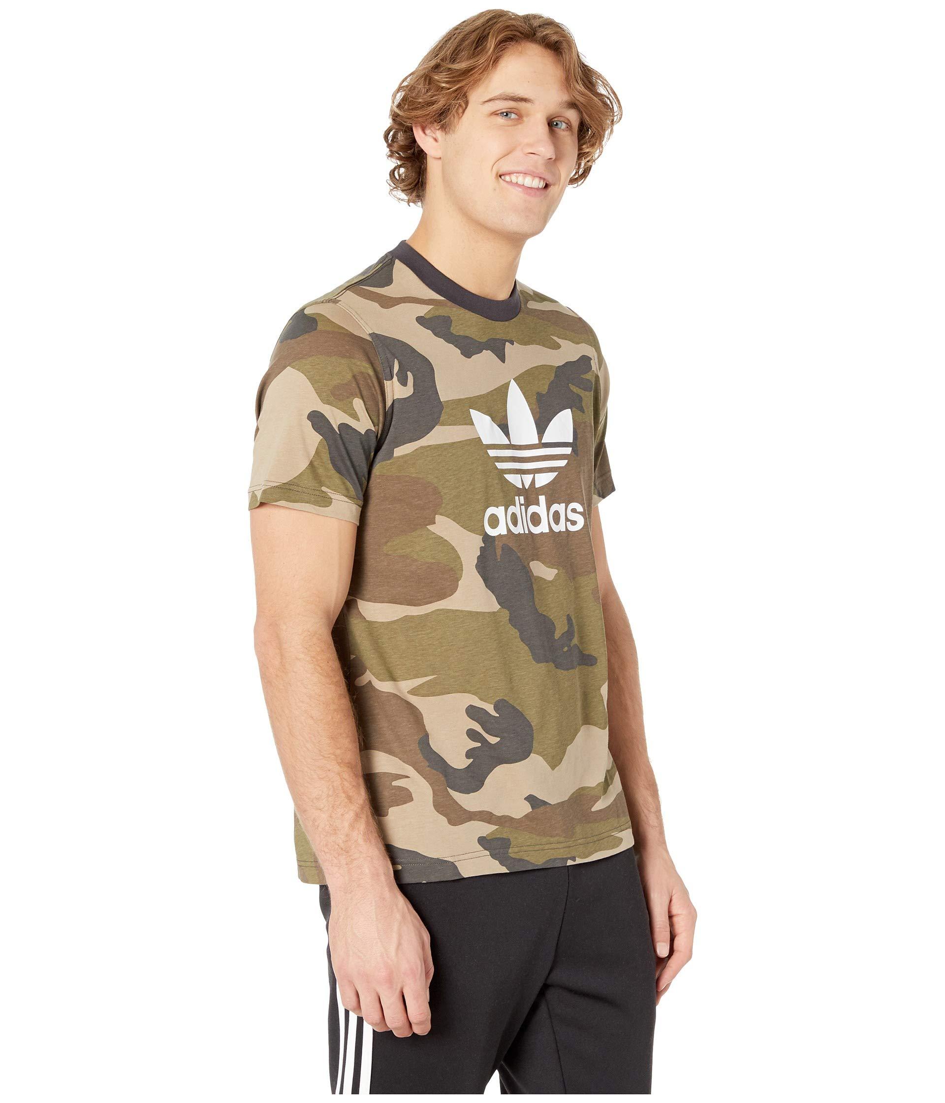 utility Tee Originals Adidas Black Camo Multicolor 4w11IH