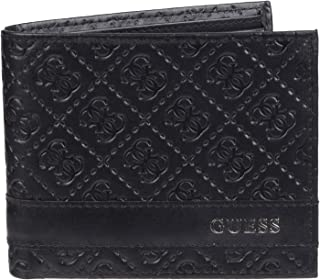 Men's Leather Slim Wallet- Bifold With Fashion Details