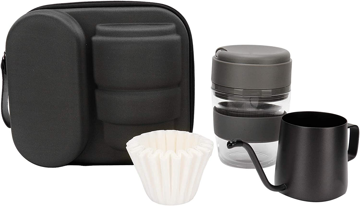 sale Coffee Travel Set Hand Coff Manual Pot At the price of surprise Brewed