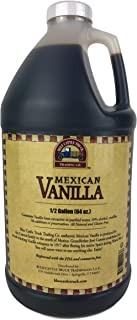 Blue Cattle Truck Trading Co. Traditional Mexican Vanilla Extract, Half Gallon, 64 Ounce
