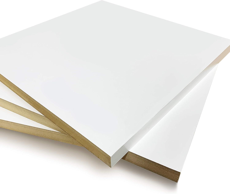 White Black Red Melamine Shelf - 2 14 quality assurance New arrival x 19 Pack C