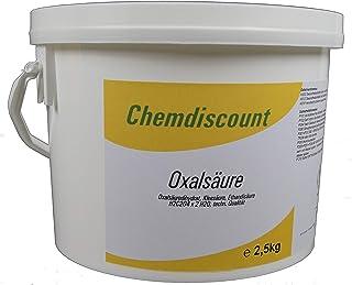 2,5kg Oxalsäure Pulver Kleesalz, Ethandisäure, min 99,6%, versandkostenfrei