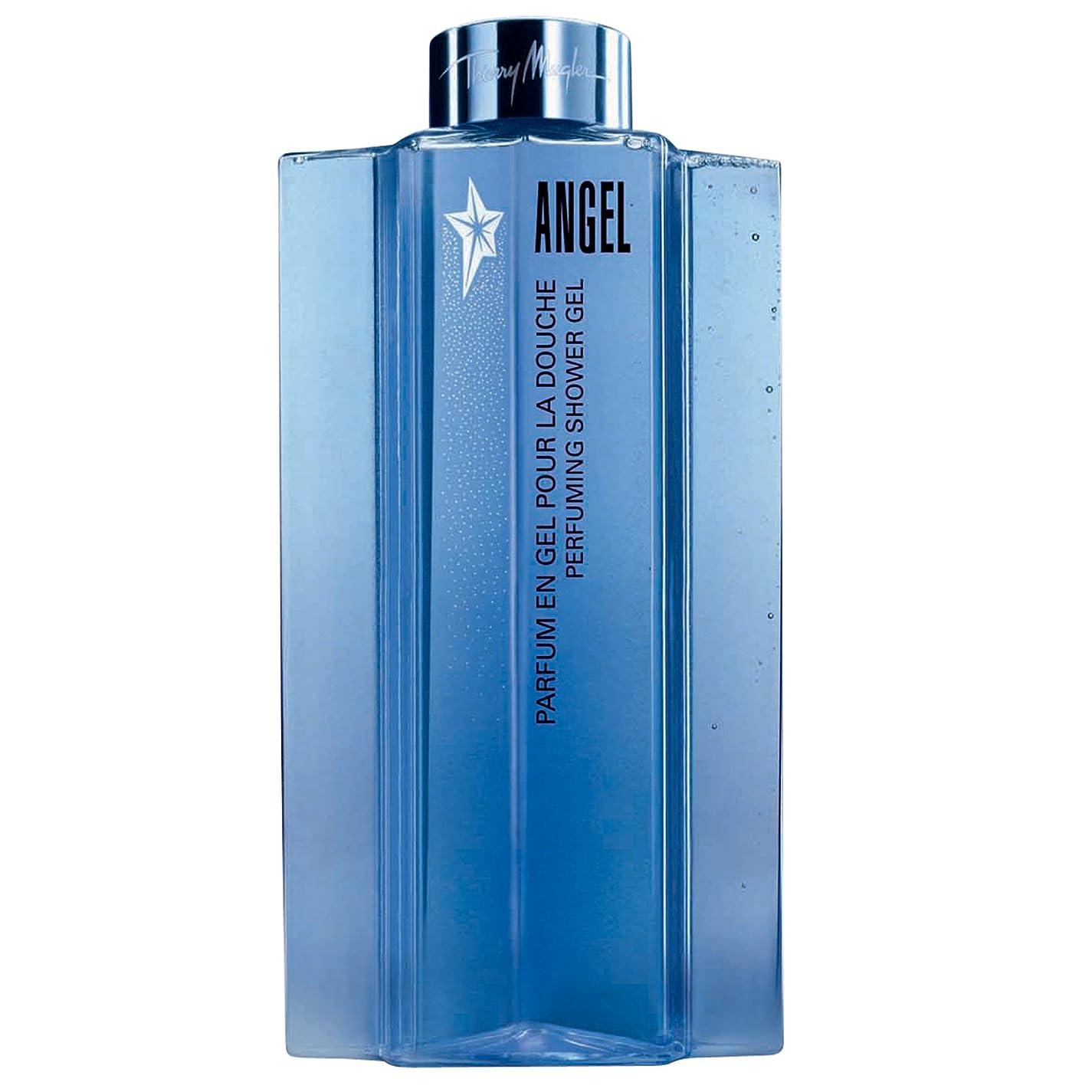 タヒチ懺悔大きさティエリー?ミュグレーの天使香料シャワージェル200ミリリットル (Thierry Mugler) (x2) - Thierry Mugler Angel Perfuming Shower Gel 200ml (Pack of 2) [並行輸入品]