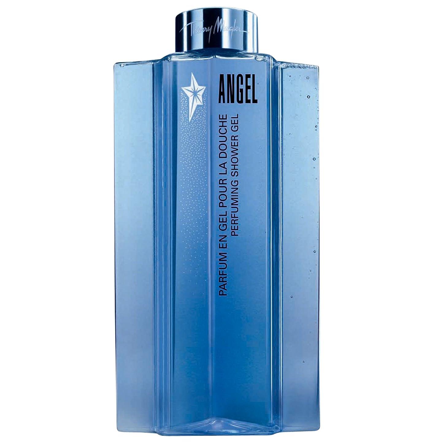 息を切らして受信機酸素ティエリー?ミュグレーの天使香料シャワージェル200ミリリットル (Thierry Mugler) (x6) - Thierry Mugler Angel Perfuming Shower Gel 200ml (Pack of 6) [並行輸入品]