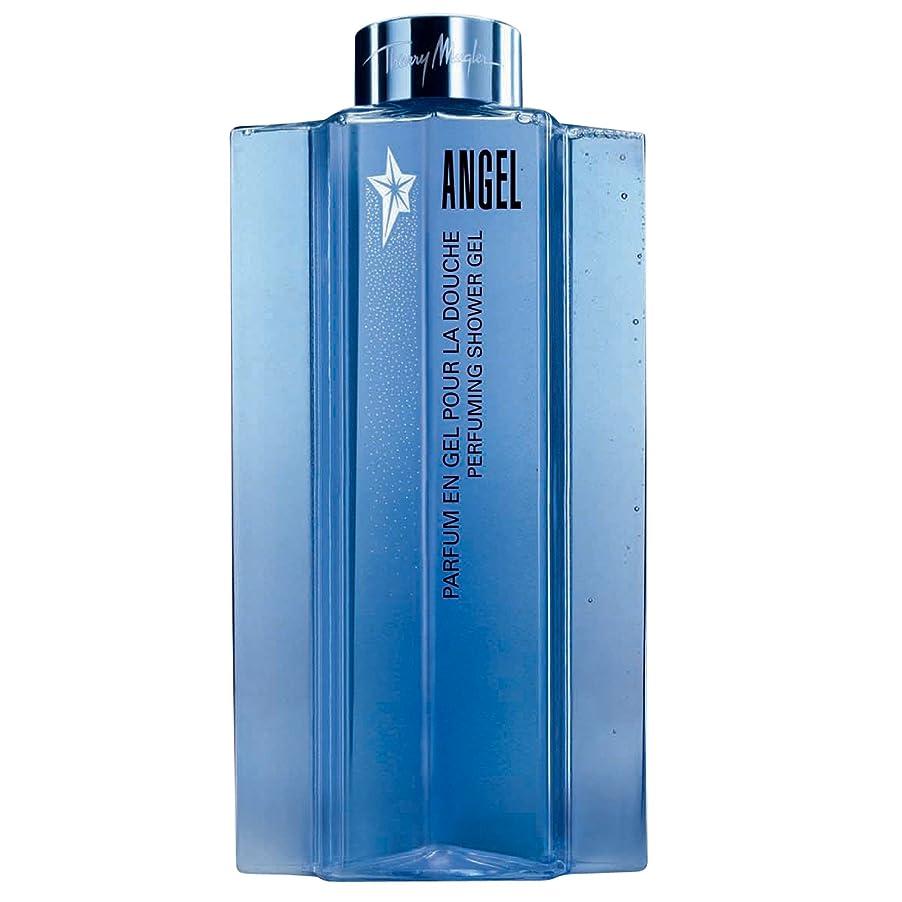 エスカレート閉塞処理ティエリー?ミュグレーの天使香料シャワージェル200ミリリットル (Thierry Mugler) (x6) - Thierry Mugler Angel Perfuming Shower Gel 200ml (Pack of 6) [並行輸入品]