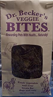 Dr. Becker's Bites Treats for Cats and Dogs, 5 Ounces Per Bag