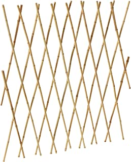 Bosmere Expanding Bamboo Trellis for Vining Plants, 6' x 4'