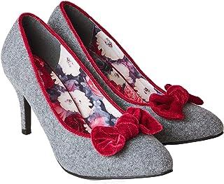 Joe Browns Womens/Ladies Rockefeller Velvet Bow Shoes