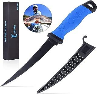 TOPFORT Outdoors Fillet Knife,Bait Knife,Sharp Stainless...
