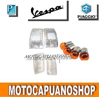 Indicatore di direzione Occhiali Set anteriore posteriore PIAGGIO VESPA PK 50/80/125/XL Arancione