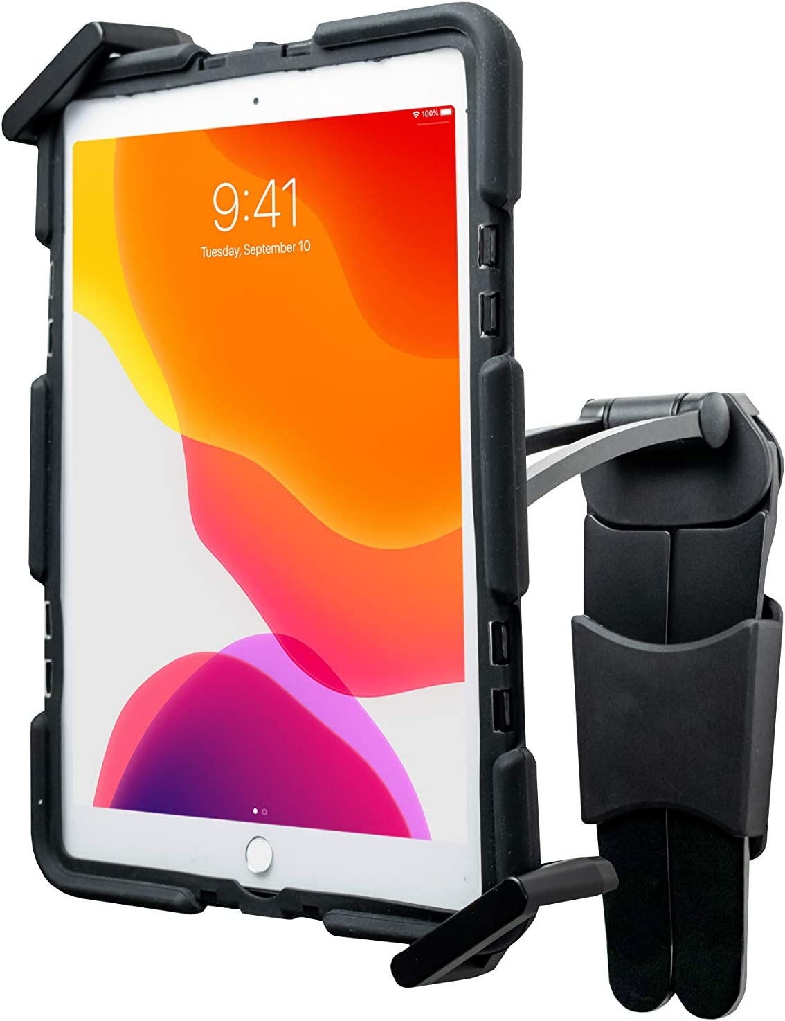 2-in-1 Tablet Stand - CTA Multi-Flex Stand and Magnetic Wall Mount for Most iPad 7th & 8th Gen 10.2