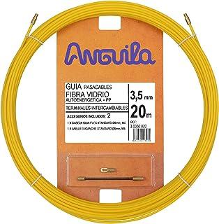 comprar comparacion Anguila 30350020 Guía pasacables Fibra de Vidrio+Polipropileno, Amarillo, 20 Metros