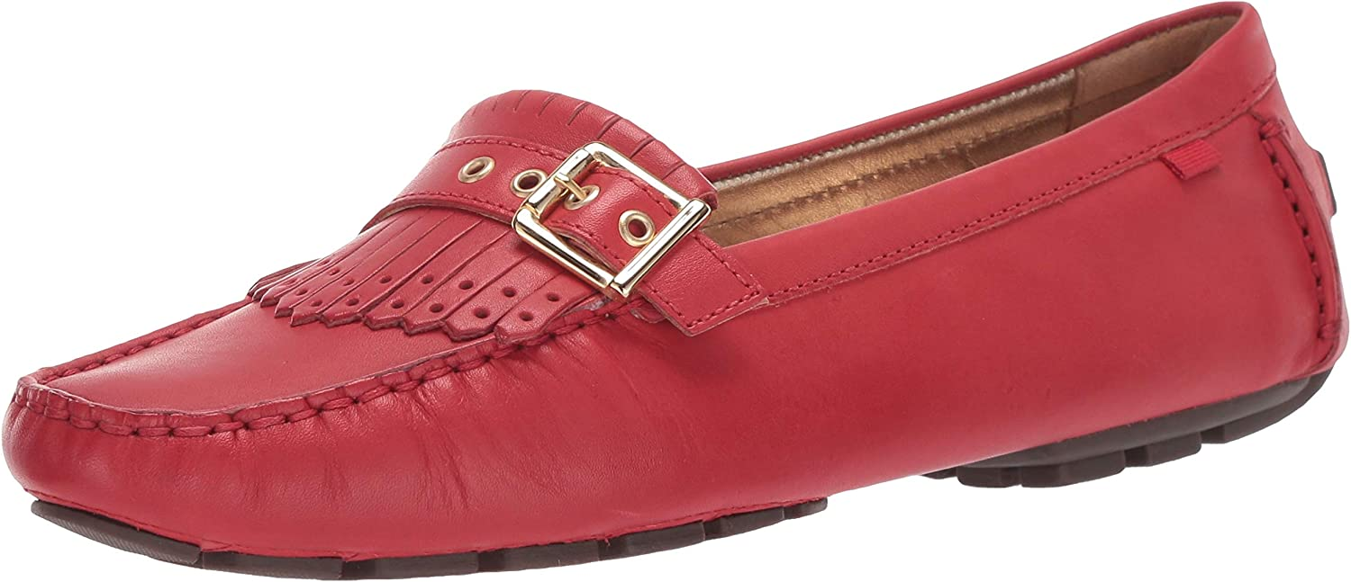 MARC JOSEPH NEW YORK Womens Leather South Street Kilt Loafer Driving Style