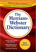 Download The Merriam-Webster Dictionary, New Trade Paperback, 2019 Copyright PDF