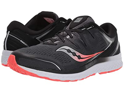 Saucony Guide ISO 2 (Black/Grey) Men
