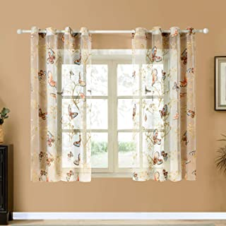 butterfly voile panels