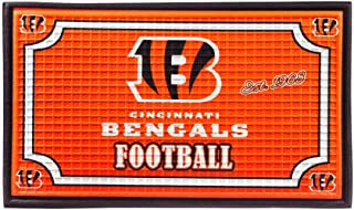 Team Sports America 41EM3806 Cincinnati Bengals Embossed Door Mat