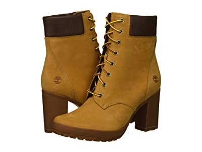 Timberland Camdale 6 Boot (Wheat Nubuck) Women