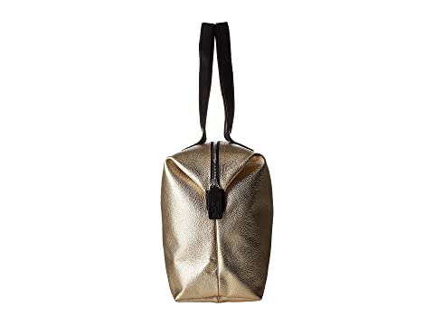 cuero Shopper Gold flor Orla cremallera Tallo con con Kiely Light de en relieve HUw0avq7
