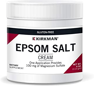 Epsom Salt Cream 4oz