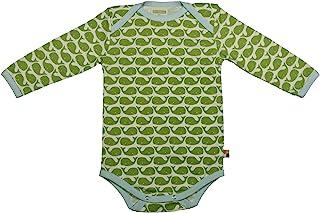Loud + Proud - Body - Manches Longues - Mixte bébé - Vert (Moos) - FR: 18 Mois (Taille Fabricant: 86/92)