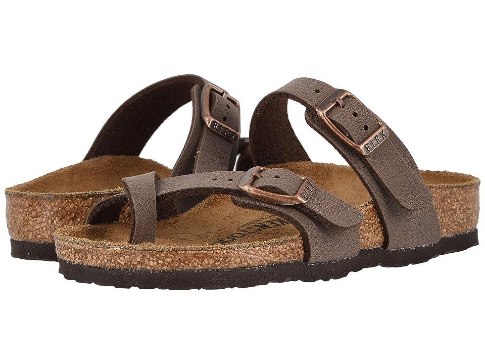 Birkenstock Kids Mayari (Little Kid/Big Kid) (Mocha) Girls Shoes