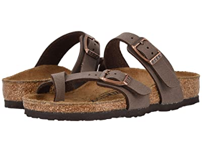 Birkenstock Kids Mayari (Toddler/Little Kid/Big Kid) (Mocha) Girls Shoes