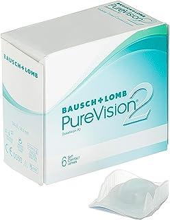 BAUSCH + LOMB  - PureVision2® - Lentes de contacto de reemplazo mensual
