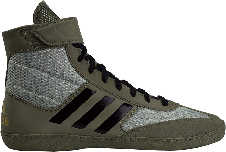 Adidas Combat Speed 5 Men's Wrestling schuhe, Tan Tan schwarz Silber, Größe 9.5  40% Rabatt