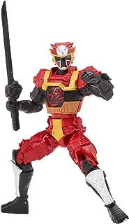 Power Rangers Super Ninja Steel Action Hero Figure, Lion Fire Armor: Red Ranger