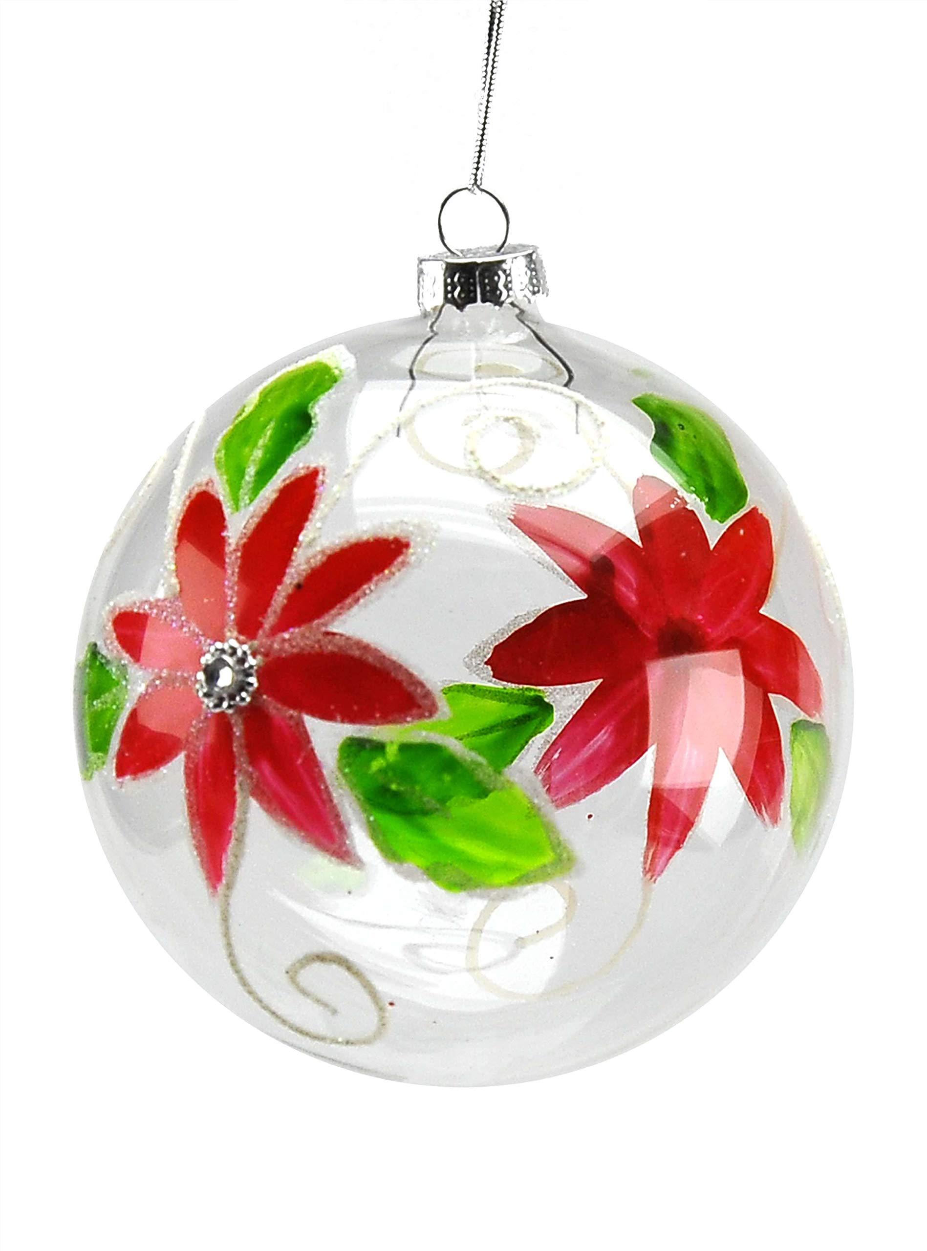 Widdop Regali Carino Babbo Natale in Lidded Palla di Neve Decorazione