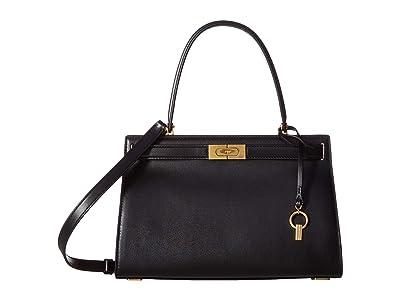 Tory Burch Lee Radziwill Small Bag (Black) Handbags
