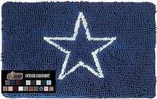 Gorilla Grip Original Indoor Durable Chenille Doormat, 48x30, Absorbent Washable Inside Mats, Low-Profile Rug Doormats for...