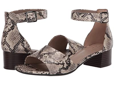 Clarks Elisa Dedra (Taupe Synthetic Snake) Women
