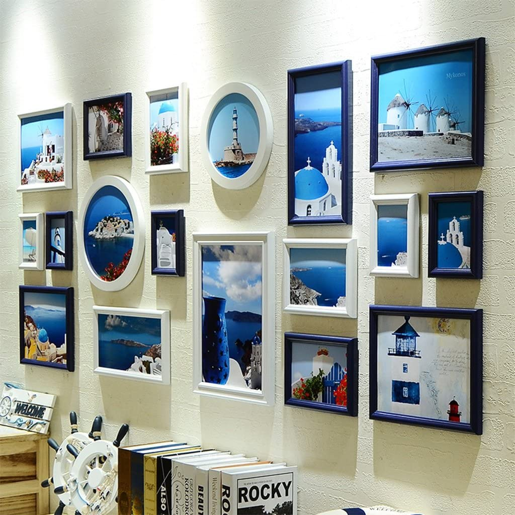 SI YU DWW-photo frame Max 49% OFF collage Max 89% OFF Photo backgr sofa room living wall