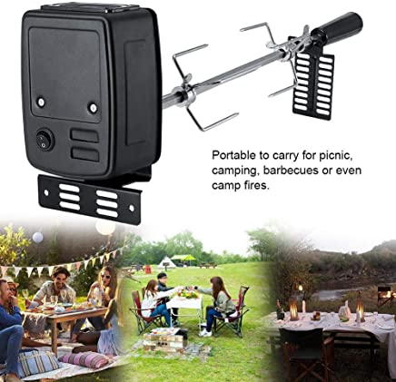 LYXMY Motor Bracket 2PCS Safe Outdoor Easy Install Rotisserie Tool Support Plate BBQ Accessories Stainless Steel High Hardness Camping Barbecue Grill Use