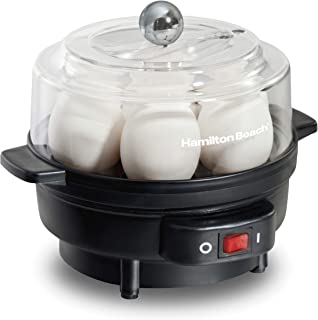 Hamilton Beach Electric Egg Cooker and Poacher for Soft, Hard Boiled or Poached with..