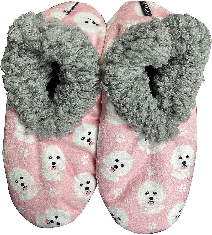 Bichon Frise Super Soft Womens Slippers #1