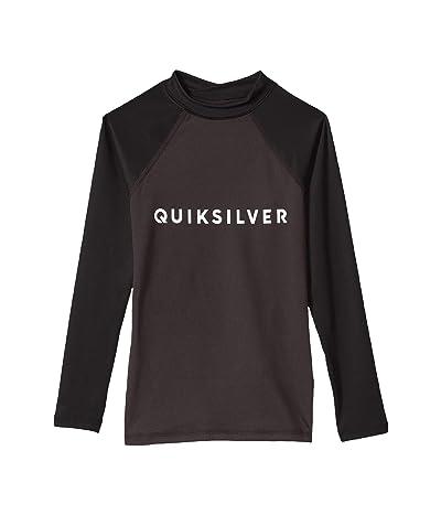 Quiksilver Kids Always There Long Sleeve Rashguard (Big Kids) (Tarmac) Boy
