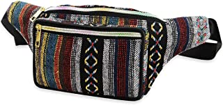 Yunhany Direct Boho Ethnic Style Tribal Waist Bag Outdoor Sports Chest Bag