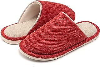 WINZYU Chaussons Femme Hommes Classique Chaud Peluche Pantoufles Confortable Léger Maison Chaussures