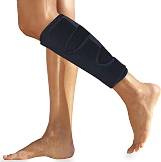 Calf Brace for Torn Calf Muscle - Shin Brace for Calf Strain - Shin Splint Brace - Calf Wrap - Calf Support Leg Brace for Shin Splints - Neoprene Lower Leg Calf Compression Sleeve Men Women for Calf Strain Injury Tear Runners Remedy