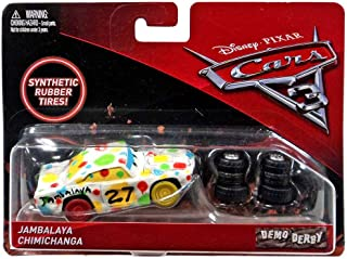 Disney/Pixar Cars 3 Demo Derby Jambalaya Chimichanga with Synthetic Rubber Tires Die-Cast Vehicle