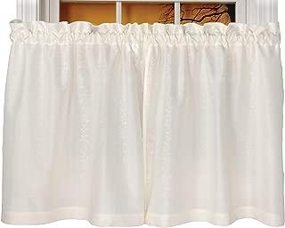 Curtain Chic Susquehanna Tier Curtain (56