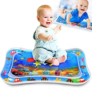 ALLYAOFA Inflatable Tummy Time Water Play Mat, Sensory Toy for Babies Infants Toddlers Perfect Baby Toy for 3 to 12 Months...
