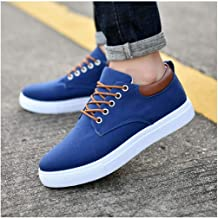 Fashion Brand Men Shoes Casual Flats Summer Spring Men Loafers Black White Comfortable Soft Canvas Shoes Man Sneakers Size 39-47 Blue 11