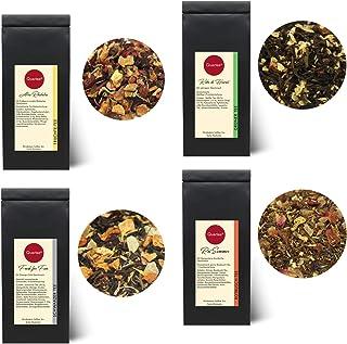 Quertee Eistee Set - 4 x Eistee für die heißen Sommer Tage - Tee im Sommer - 4 x 50 g 200 g